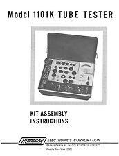 Mercury 1101K Tube Tester  Assembly Manual