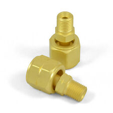 Western 103 & 104 Oxygen Acetylene Adaptors, A Size Hose to B Torch/Regulator