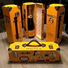 Champagne Veuve Clicquot Trunk Box, Traveler Case, Limited Edition RARE NEW