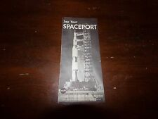 Vintage 1960's See Your Spaceport Kennedy Space Center Brochure Florida