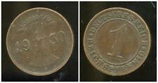 ALLEMAGNE 1 reichspfennig  1930 A  ( bis )