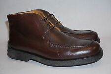 Tods Mens Dress Brown Boots, Size 9.5 UK, 10.5 US - Made in Italy TOD'S