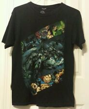 DC Comics Tshirt - Batman-Wonder Woman-Superman & more - All Characters- Medium