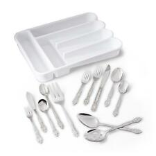 Essential Home 102-Piece Flatware Set / Flatware Tableware Dining &