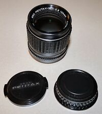 Pentax - M SMC 120mm f/2.8 Portrait Lens in Black with caps Excellent condition