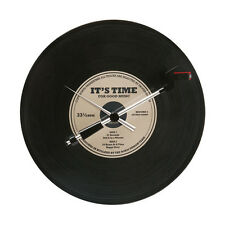 "Orologio da Parete ""SPINNING RECORD OLDIES""Ø 36 cm. - MOVIMENTO rotatorio-NEW!"
