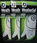 3 NEW WEATHERSOF mens Golf Gloves by FootJoy. CHOOSE SIZE!