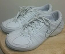 NIKE MUSIQUE WHITE LEATHER WOMEN'S FITNESS DANCE SHOES 315757-111 sz. 6.5