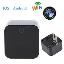 HD 1080P WIFI P2P Mini SPY Hidden Camera Wall Charger USB Pen Camera Adapter DVR