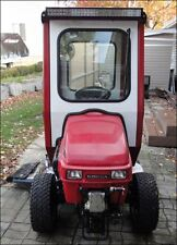 HONDA 5518 TRACTOR 4 WHEEL STEERING 4WD WITH CURTIS CAB & SNOW BLOWER LOW HOURS