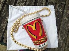 "MOSCHINO X Jeremy Scott ""MILKSHAKE Bag"" LTD EDT e disponibilità, Mc Donalds"