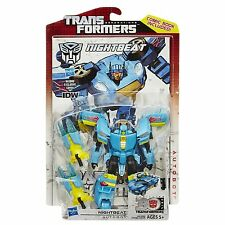 "TRANSFORMERS GENERATIONS SERIES 02 ""NIGHTBEAT"" DELUXE CLASS #020 AUTOBOT HASBRO"
