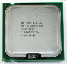 Intel Core 2 Duo E7600 E7600 - 3.06 GHz Dual-Core SLGTD Processor