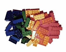 ☀️NEW! Lego 2x4 Bricks 500 Count, 5 Assorted Colors RED Orange Yellow Blue Green