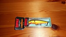 Rapala Original Floating Minnow - Model S 7 - Bleeding Hot Olive - NEW!