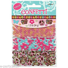 HIPPIE CHICK CONFETTI VALUE PACK (3 types) ~ Birthday Party Supplies Decorations