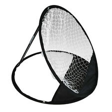Golf Practice Driving Hit Net Training Mat Aid Driver Tool Portable Pop up NEW