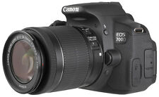 Canon EOS 700D / T5I Rebel Digital SLR Camera + 18-55mm STM Lens - BRAND NEW