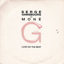 CD CARTONNE CARDSLEEVE SERGE GAINSBOURG BY MONE 1T LOVE ON THE BEAT 2004