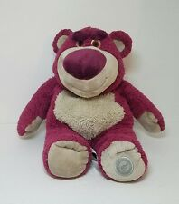 "Genuine Original Disney Store Toy Story 3 Lotso Bear 15"" Plush Strawberry Scent"