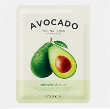 ITS SKIN The Fresh Mask AVOCADO for High Nutrition 1pc skin care facial sheet