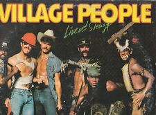 LP 3221  VILLAGE PEOPLE LIVE AND SLEAZY  DOPPIO LP2