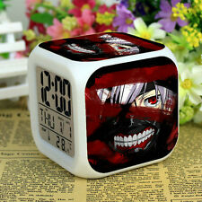 Tokyo Ghoul Children Colorful Color Changing LED Alarm Clock