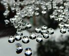 2000PCS 4.5mm Clear 1/3ct Diamond Table Confetti Decoration Wedding Party