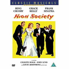 HIGH SOCIETY DVD MUSICAL BING CROSBY GRACE KELLY FRANK SINATRA LOUIS ARMSTRONG
