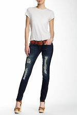 TRUE RELIGION WOMENS DISTRESSED SKINNY JEANS JEANS 26 NEW
