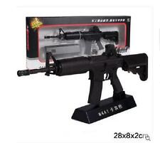 M4A1 Sniper Rifle Display model, scale 1/3 (L=28cm), Metal and plastic, Black B