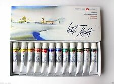 Watercolor Paint  White Nights Nevskaya palitra  RUSSIAN 12 Set  in 10ml tubes.