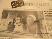 1955 Newspaper Servel Inklings Evansville IN Made Refrigerators, WWII Products