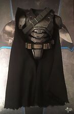 Hot Toys BvS Armored Batman Body Armour & Black Cape loose 1/6th scale
