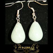 JADE DROP GEMSTONE EARRINGS
