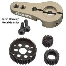 Axial Hard Steel Locked Transmission Gear Set w/25T Servo Horn Wraith AX10 SCX10