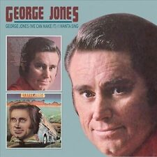 George Jones (We Can Make It)/I Wanta Sing by George Jones (CD, Sep-2011,...