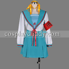 Suzumiya Haruhi cosplay costume school girl uniform