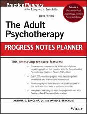 The Adult Psychotherapy Progress Notes Planner (PracticePlanners) by Jr. Jongsma