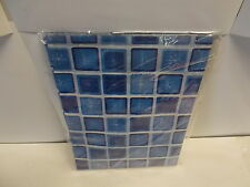 """20 packs Gift Tissue. 10 sheets p/pack. 18"""" x 24"""".  Blue Square. 200 sheets N231"""