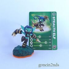 Skylanders Giants STEALTH ELF + CARD SERIES 2 Swap Force/Trap Team/Superchargers