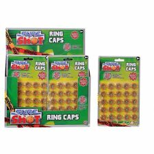 400 Sure Shot Ring Caps 50 x 8 Fits all 8-shot Toy Guns Revolver Chamber Rifles