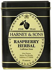 Harney & Sons Loose Leaf Herbal Tea, Raspberry, 8 Ounce, New, Free Shipping