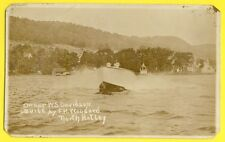 Post Card Photo CANADA North Hatley OWNER W.S. DAVIDSON BUILT By F.H. WOODARD