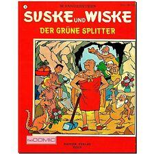Suske und Wiske 3 Der grüne Splitter RÄDLER KINDER FUNNY COMIC Vandersteen 70er