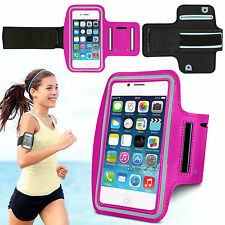 Sports Running Jogging Gym Armband Waterproof Case for iPhone 4, 4s Hot Pink