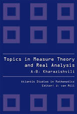 Topics in Measure Theory and Real Analysis: 2 (Atlantis Studies in Mathematics),