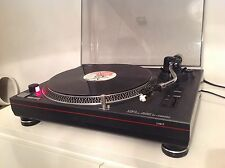 LIMIT DIRECT DRIVE TURNTABLE DECK GREY with STANTON 500 CARTRIDGE & NEEDLE