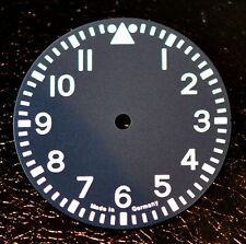watch dial made for ETA Unitas 6497 movement big pilot aviator navigator