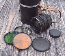 MIR 10A wide angel lens 28mm F/3.5 in case!